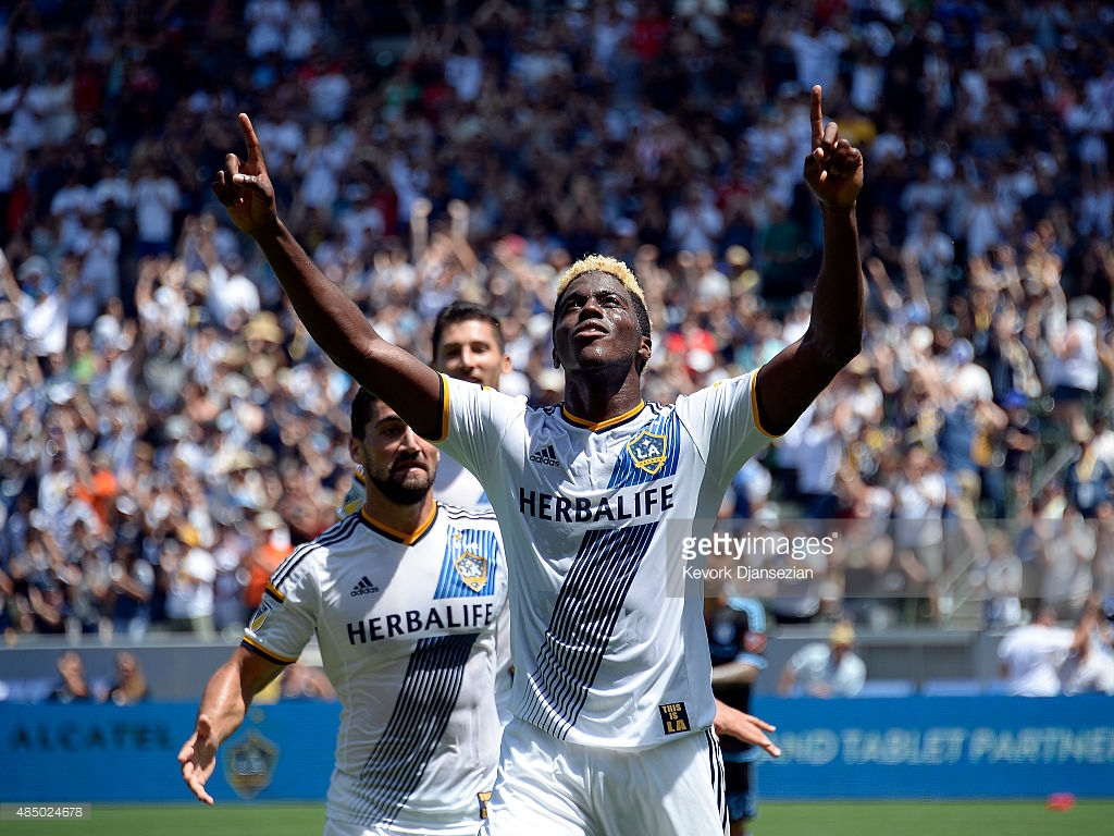 Gyasi Zardes Los Angeles Galaxy