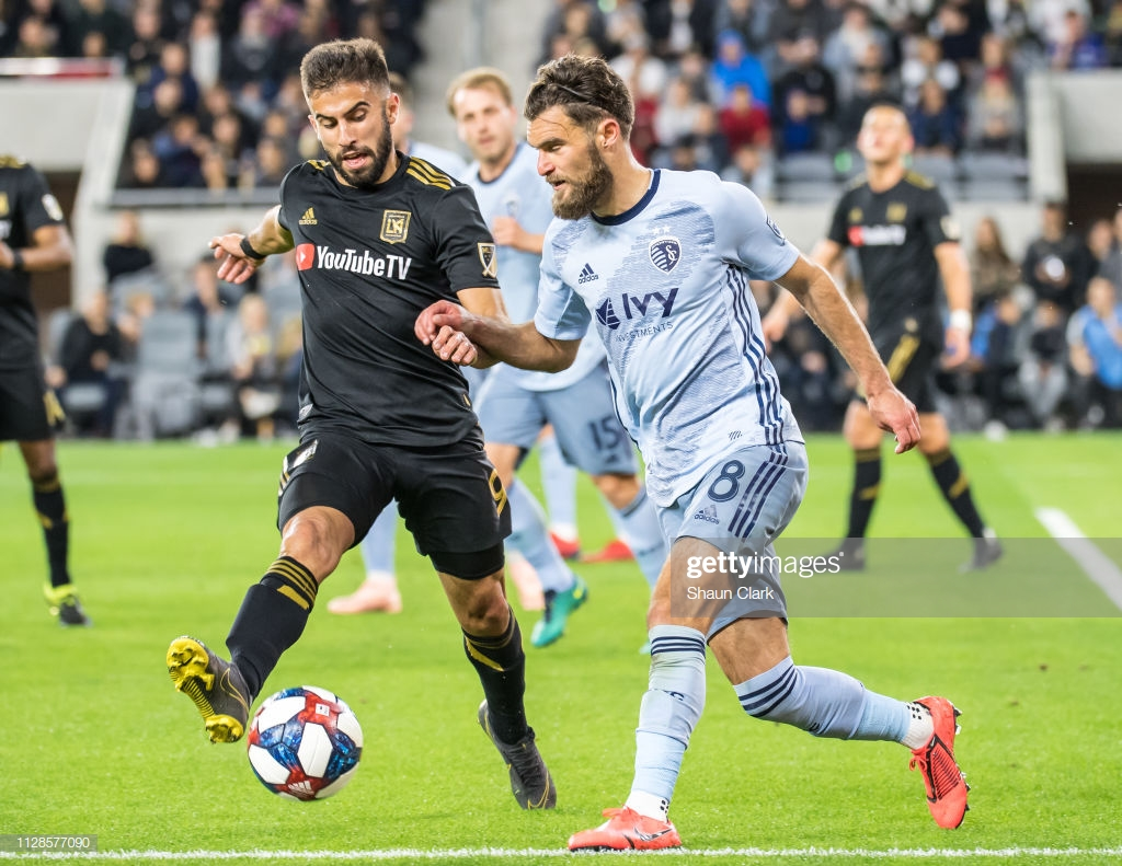 MLS LAFC Sporting KC
