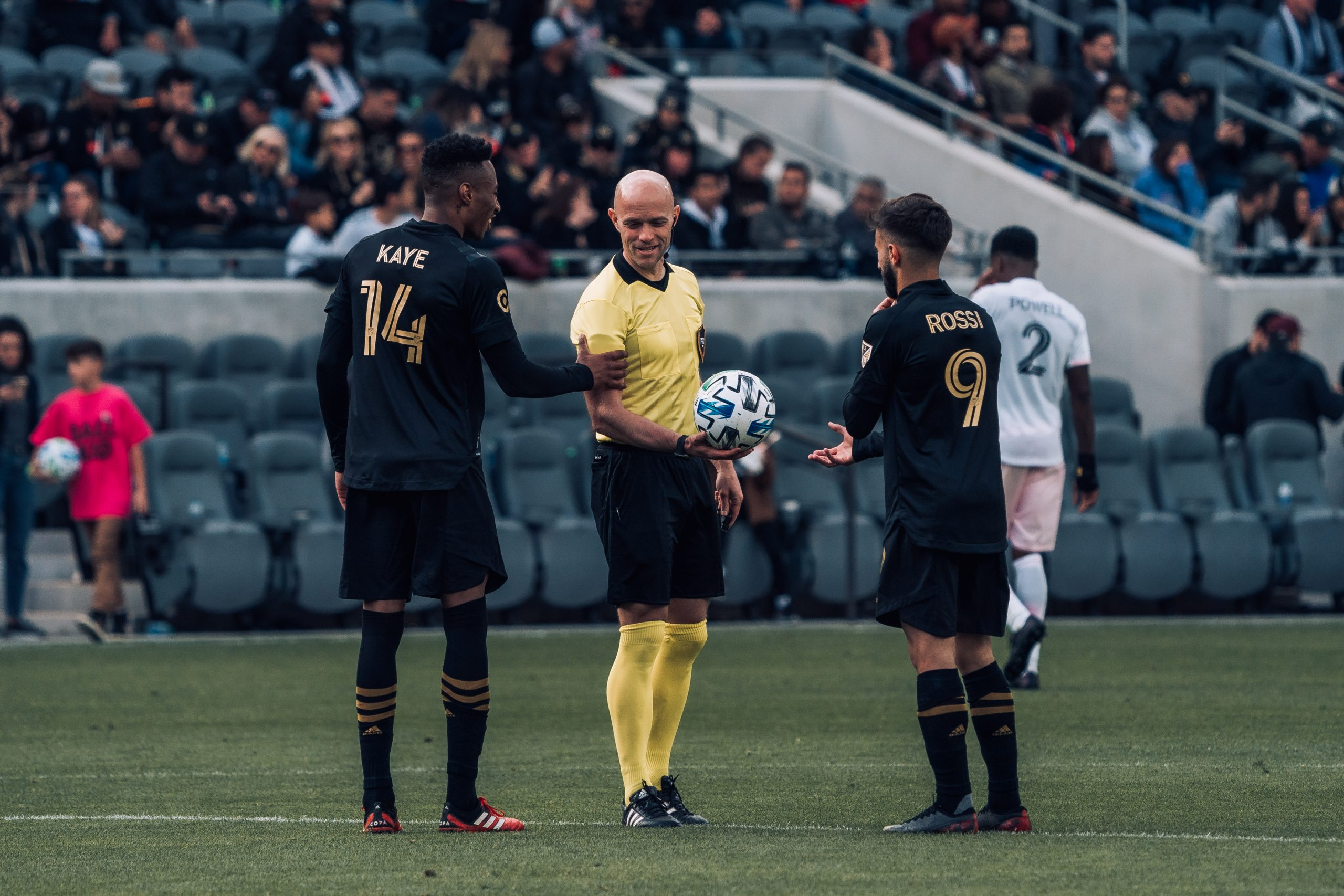 LAFC Diego Rossi Mark-Anthony Kaye
